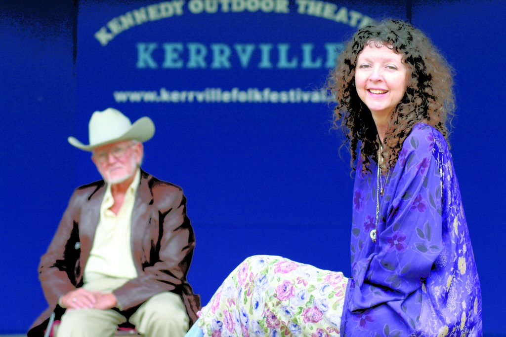 Kennedy and Allen on the main stage in the Rod Kennedy Outdoor Theater (Photo by Melissa Webb)