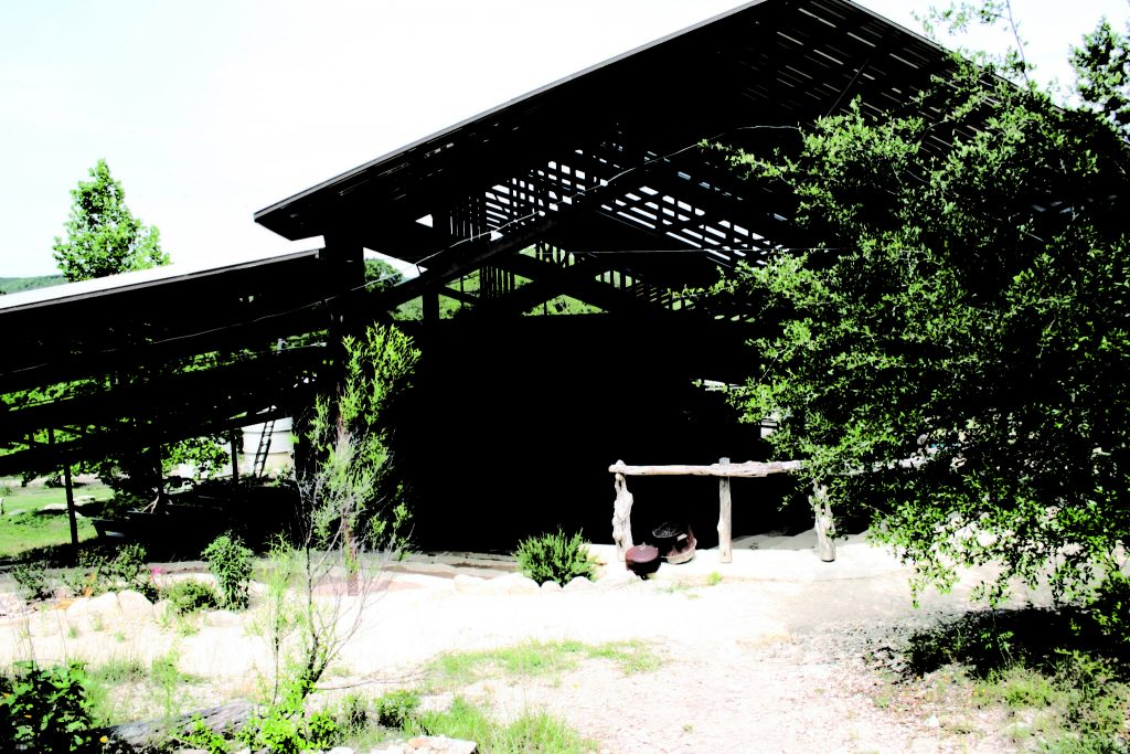 The Kenneth Threadgill Theater, Quiet Valley Ranch (Photo by Melissa Webb)