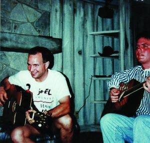 Garth Brooks and Mike McClure