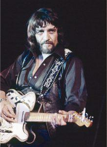 Waylon in the '70s (Photo by Ron McKeowan)