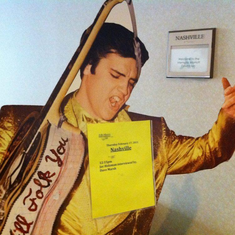 Elvis is in the building. (Photo by Richard Skanse)
