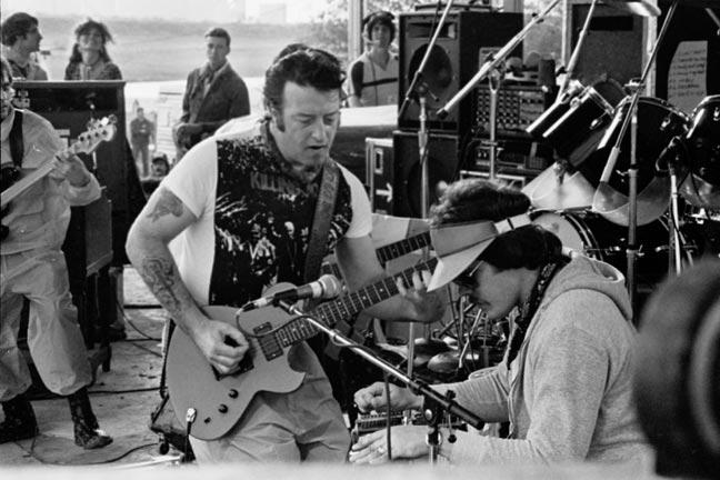 "Jesse ""Guitar"" Taylor and Lloyd Maines (Courtesy Joe Ely)"