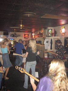 Sweeney at the Poodle Dog in Austin, 2005. (Courtesy of Sunny Sweeney)
