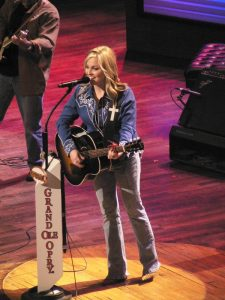 Sweeney at the Opry in 2008. (Photo by Tim Noel)