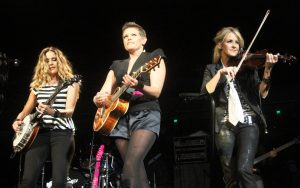 "The Dixie Chicks at ""Fire Relief: The Concert for Central Texas"" (Photo by Roy Mata)"