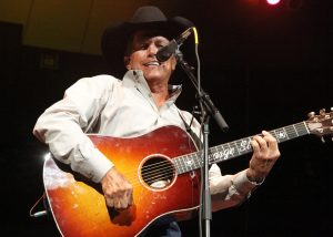 "George Strait closing out ""Fire Relief: The Concert for Central Texas"" (Photo by Roy Mata)"