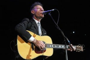 "Lyle Lovett at ""Fire Relief: The Concert for Central Texas"" (Photo by Roy Mata)"