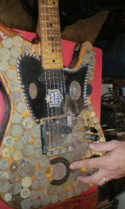 Dale Watson's guitar. (Photo by D.C. Bloom)