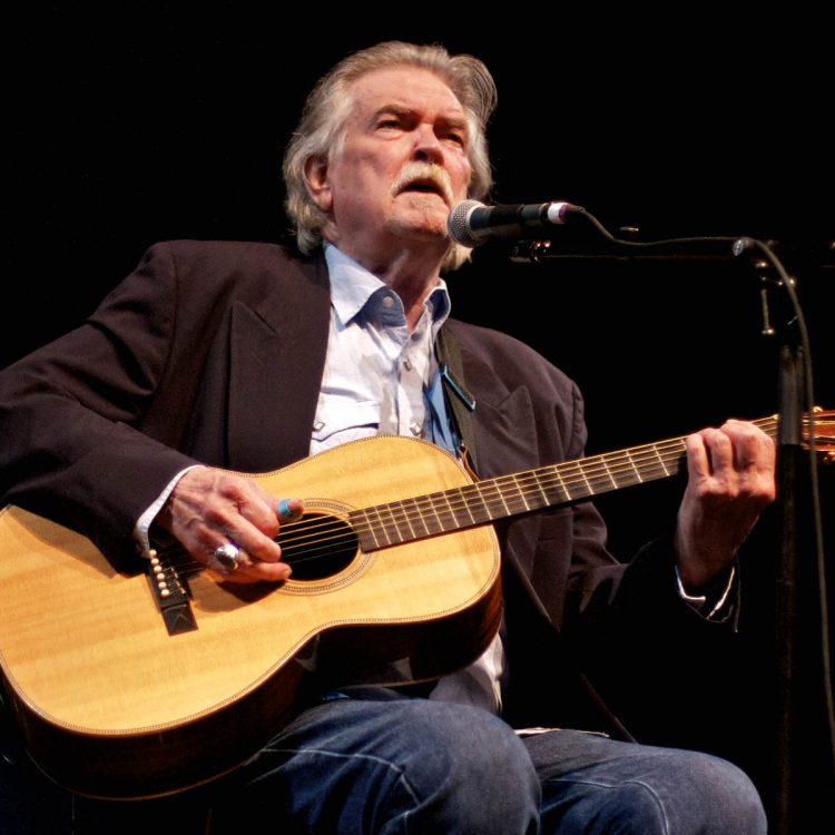 Guy Clark onstage at his 70th Birthday Tribute. (Photo by Machelle Dunlop)