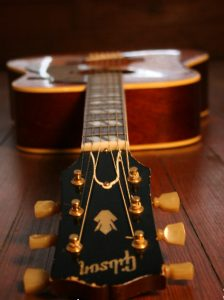 Bill Rice's Gibson Hummingbird. (Courtesy Bill Rice)