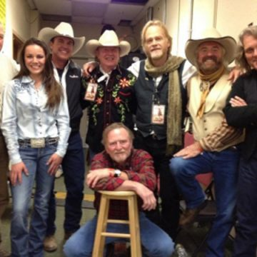 Lost Gonzos with Michael Martin Murphy in Steamboat (Courtesy TexasMusic.org)
