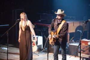 Courtney Patton and Jason Eady (Photo by Sandra Eidenberg)