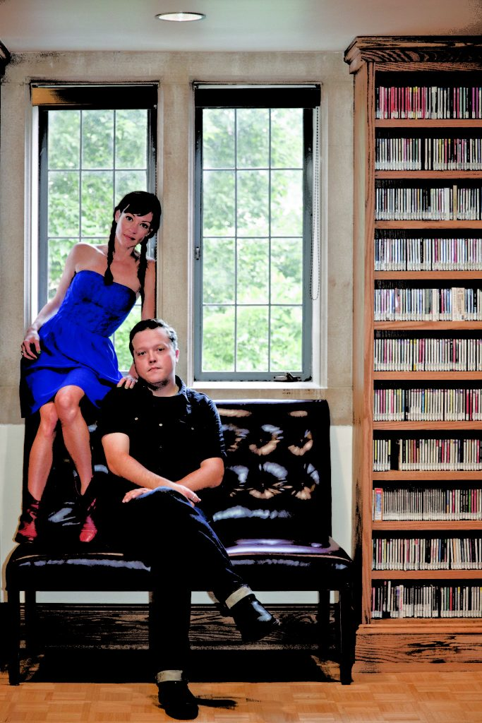 Amanda Shires and Jason Isbell (Photo by Erica Shires)