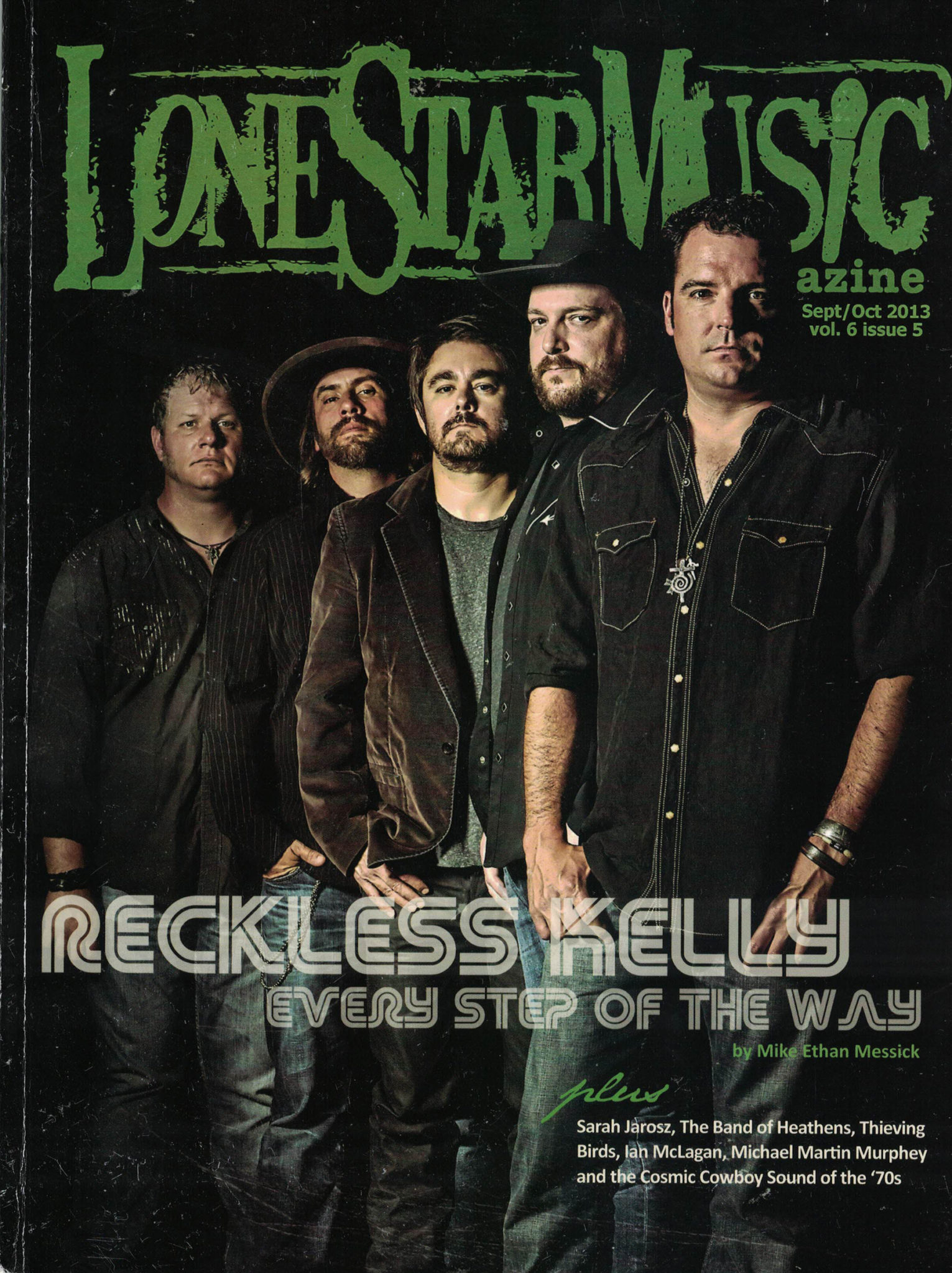 LSM Cover Story: Reckless Kelly | Lone Star Music Magazine
