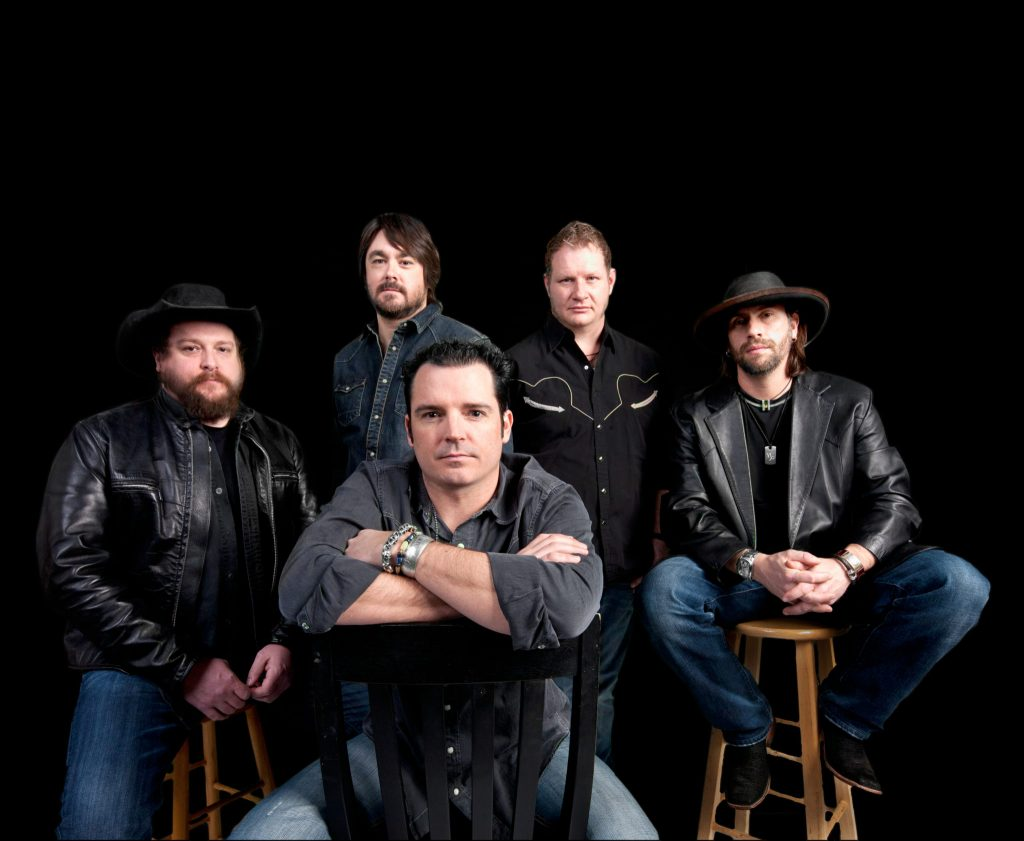 RECKLESS BROTHERS OF THE ROAD: (from left) Cody Braun, David Abeyta, WillY Braun, Joe Miller, and Jay Nazz. (Photo courtesy of Reckless Kelly)