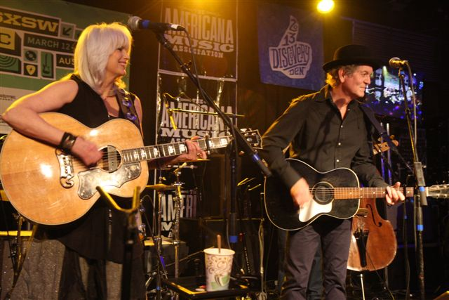 Emmylou Harris and Rodney Crowell at SXSW 2013. (Photo by John Carrico)