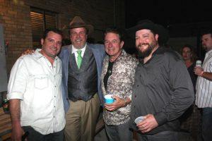 Willy Braun, Robert Earl Keen, Joe Ely, and Cody Braun (Photo by John Carrico)