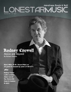 Rodney Crowell LSM Cover