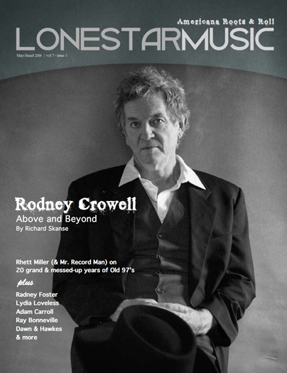 Rodney Crowell LSM Cover small