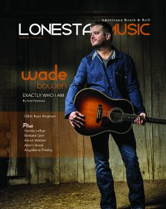 LoneStarMusic Magazine Jan/Feb 2015 Cover Photo by Rodney Bursiel