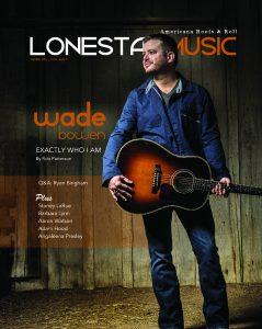 LoneStarMusic Magazine Jan/Feb 2015 Cover Photo by Rodney Bursiel