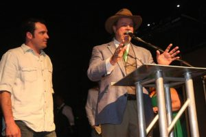 Robert Earl Keen and Willy Braun (Photo by John Carrico)