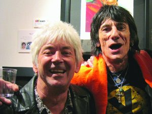 McLagan and Faces mate Ron Wood in 2006 (Photo by Lynne Margolis)