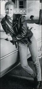 Kelly Willis leather jacket