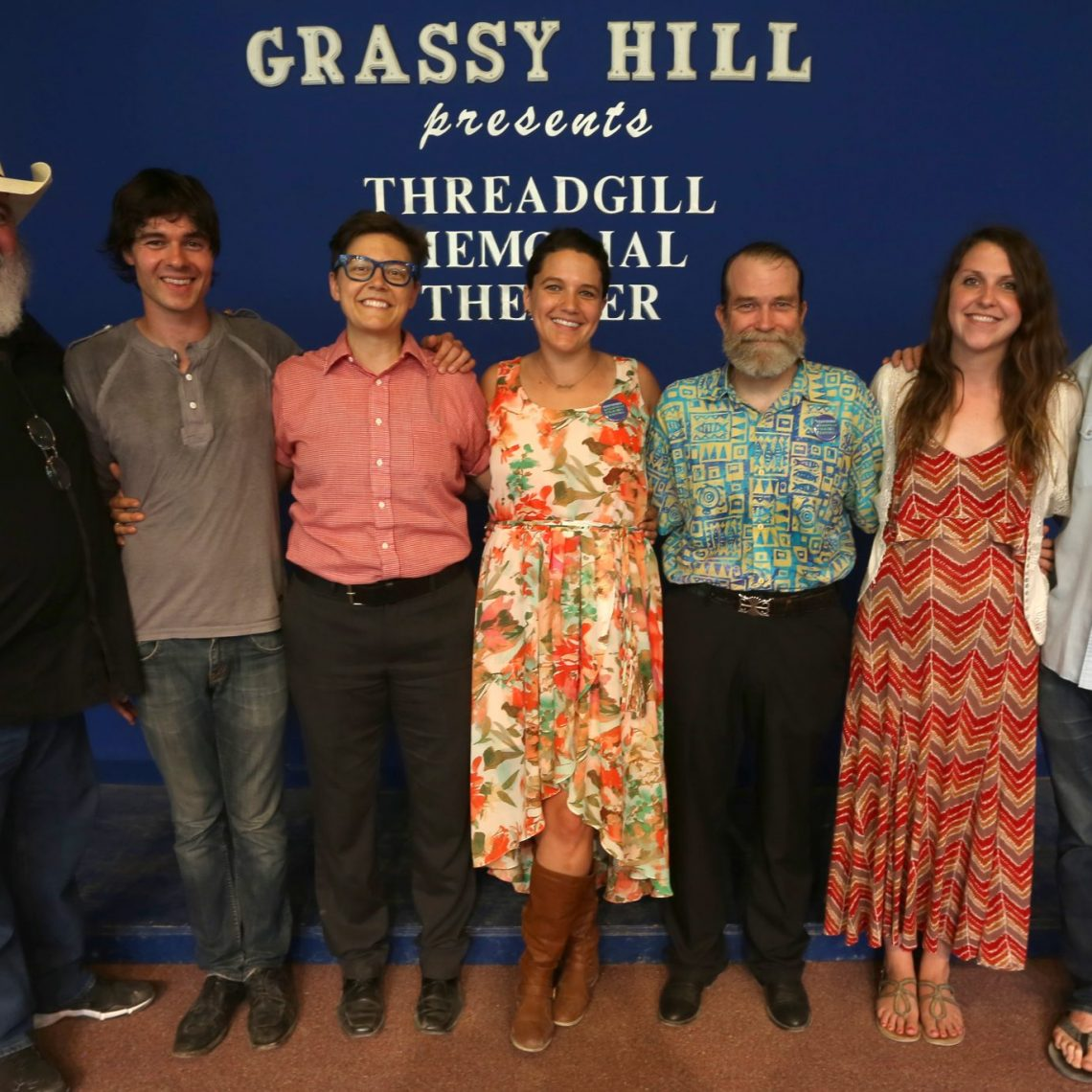 2014 Kerrville New Folk finalists. (Photo by Susan Roads)