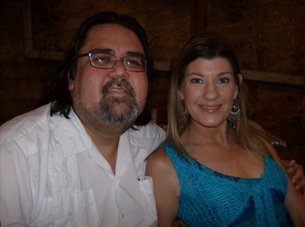 Steve Silbas and Barbara Wolfe