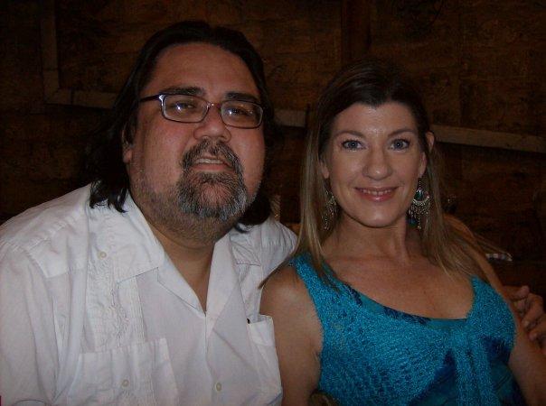 Steve Silbas and Barbara Wolfe