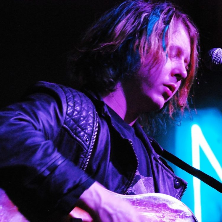 Ben Kweller at the Black Fret kickoff event in Austin. (Photo by Lynne Margolis)