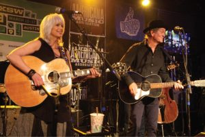 Emmylou Harris and Rodney Crowell, SXSW 2013 (Photo by John Carrico)