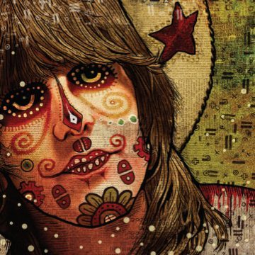 Gram Parsons Art by Charlie Terrell