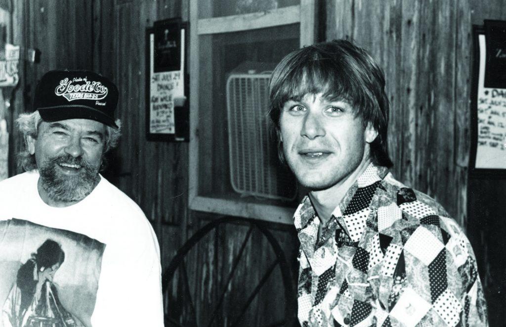 Kenty Finlay and Todd Snider (Photo by Diana Hendricks)
