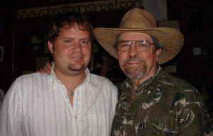Randy Rogers and Kent Finlay (Courtesy Diana Hendricks)