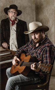 Kent Finlay and Randy Rogers (Photo by Valerie Fremin)