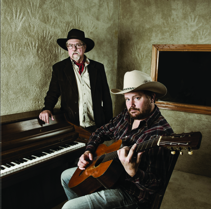 Kent Finlay and Randy Rogers, photographed at the Cheatham Street Woodshed in 2013. (Photo by Valerie Fremin)