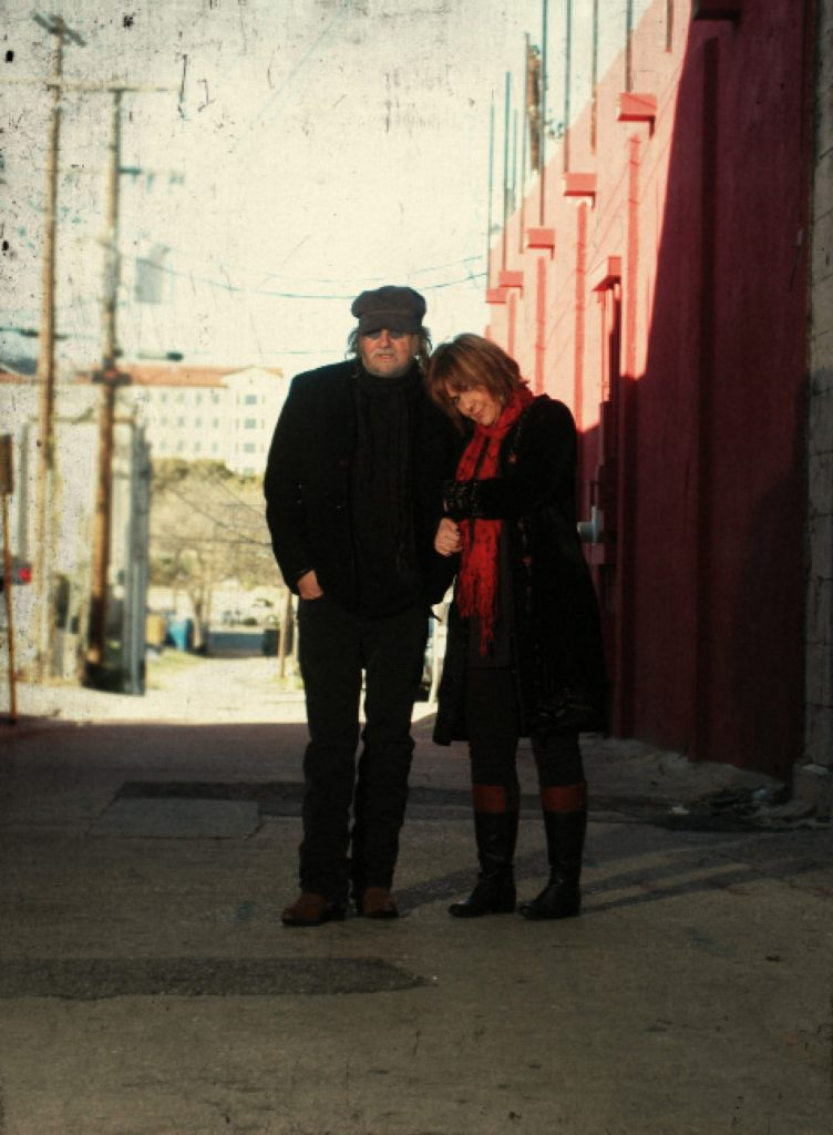 The Freewheelin' Ray Wylie and Judy Hubbard. (Photo by Richard Skanse I)