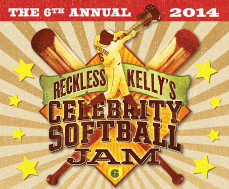 Reckless Kelly Celebrity Softball Jam 2014
