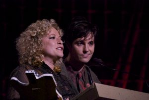Emerging Artist and Song of the Year winners Shovels & Rope (Cary Ann Hearst and Michael Trent). (Photo by Lynne Margolis)