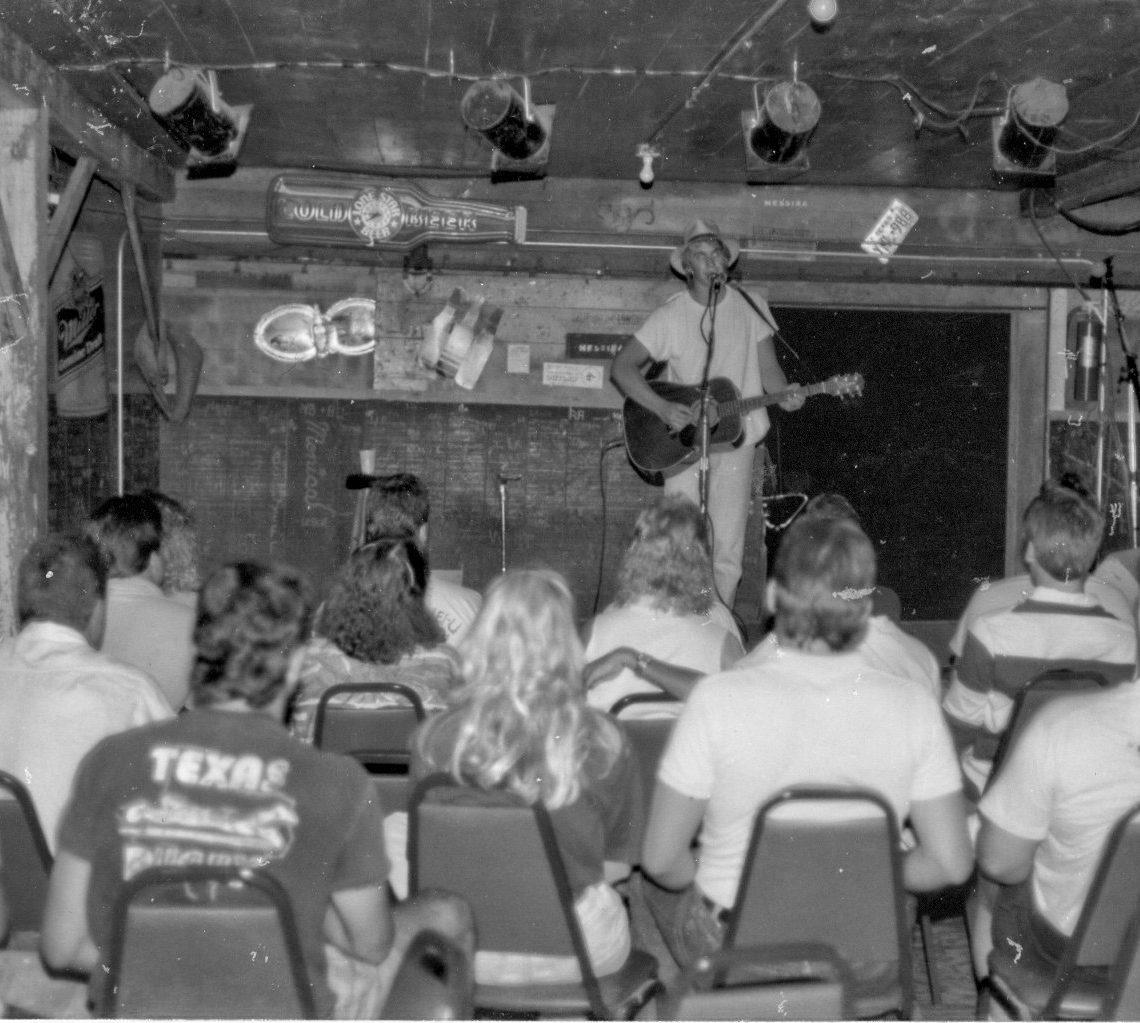 Todd Snider at Cheatham Street. (Courtesy Cheatham Street Foundation Archives)