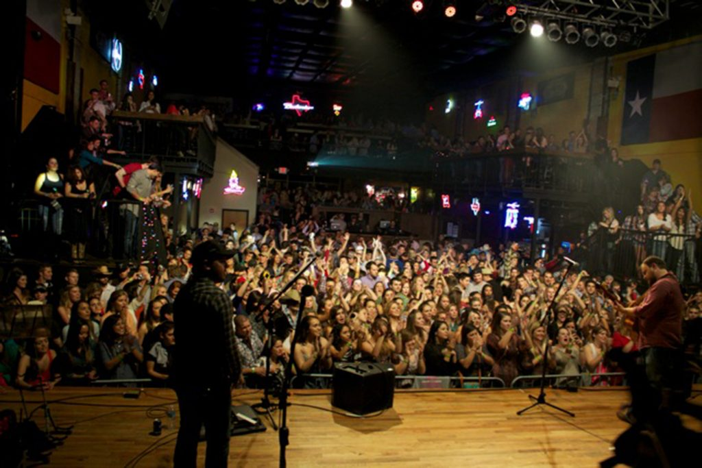 The Josh Abbott Band at San Marcos' Texas Music Theater (Courtesy Texas Music Theater)