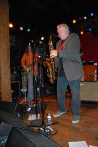 Texas sax man Bobby Keys (Photo by Robert Bryson)
