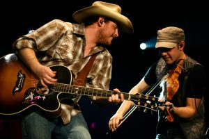 Josh Abbott and Preston Wait of the Josh Abbott Band, Lubbock's latest breakout act. (Photo courtesy of NPGPR)