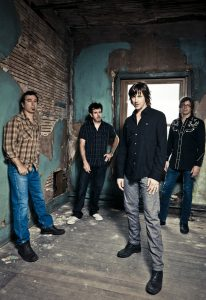 The Old 97's, from left, are Ken Bethea, Philip Peeples, Rhett Miller, and Murry Hammond. (Photo by Paul Moore)
