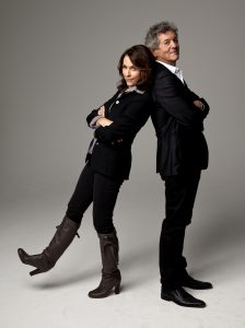 Mary Karr and Rodney Crowell (Photo by Deborah Feingold)