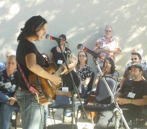 Melissa Greener at SWRFA. (Photo by D.C. Bloom)