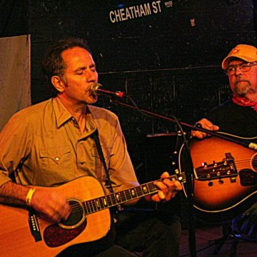 Bill Whitbeck and Kent Finlay at Cheatham Street (Photo by Mike Galloway)