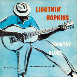 "Lightnin' Hopkins' 1960 LP ""Country Blues"" was produced by Mack McCormick."